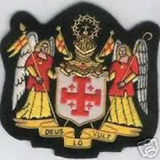 Catholic Church Medieval Military Crusades Holy Knight Order Sepulchre Patch IHS