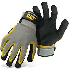 Caterpillar Cat Double Coated Latex Palm Work Gloves Medium