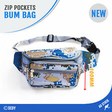 Nylon Pocket Sling Hip Bum Bag Fanny Pack Waist Sports Travel Dog Training Bait