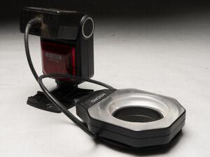 Pour Nikon Flash annulaire Bowen I-TTL pour Ø d'objectif 67, 62, 58, 55, 52 mm.