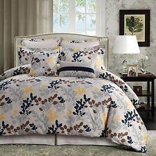 Barcelona 5-Piece Egyptian Cotton Percale printed Duvet Cover Set Queen