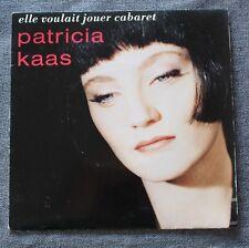 Patricia Kaas, elle voulait jouer cabaret / des mensonges en m , SP - 45 tours
