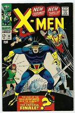 X-Men # 39 FN- Marvel 1967 New Costumes New thrills
