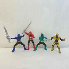 Power Rangers Samurai Action Figures Red Green Blue Gold