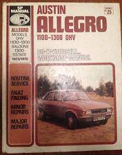 SP Workshop Manual 25-AUSTIN ALLEGRO OHV 1100-1300 saloni viaggiatori, 1300 Estate 1973-78