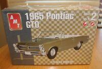 AMT 1965 Pontiac GTO Kit # 31514 Factory Sealed  1:25 10+