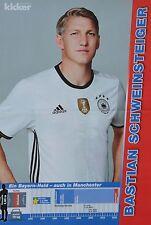 BASTIAN SCHWEINSTEIGER - A3 Poster (ca. 42 x 28 cm) - Fußball EM 2016 Clippings