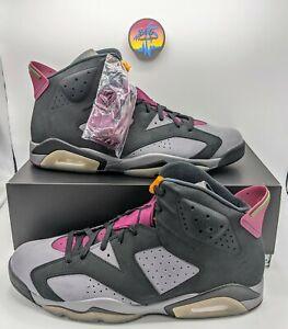 🔥 2021 Nike Air Jordan 6 Bordeaux - Men's 15 - CT8529-063 - 100% Authentic 🔥