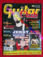 rivista GUITAR CLUB 2/2003 Jerry Horton Ben Harper Noel Gallagher  No cd