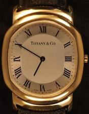 18KT YELLOW GOLD TIFFANY & CO MARK COUPE WATCH