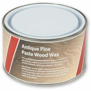 Axminster Paste Wood Wax - Antique Pine 400g