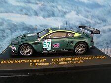 1/43 IXO  ASTON MARTIN DBR9  #57 12h Sebring 2005