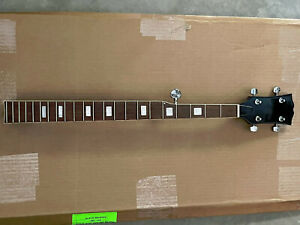 Harmony Banjo Neck 5-String Longscale Deluxe Luthier Parts Cigar Box ZB5DLXFS