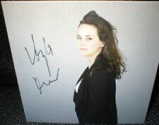 Anja Knauer, Autogramm, original signiert! 9,5cm x 9,5 cm