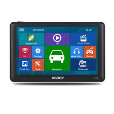 XGODY 7'' 8GB SAT NAV AV IN Bluetooth 256MB RAM Car Truck GPS Navigation FM 712