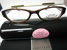 Phoebe Couture  Eyeglass Frames P210  BROWN 52-16-135 With  Case