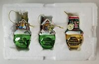 Charming Tails Ornament Fitz Floyd Bradford Exchange 3 Jingle Bells Mouse Mice