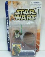 Star Wars Clone Wars Army Of The Republic Yoda Action Figure 2003 Unopened