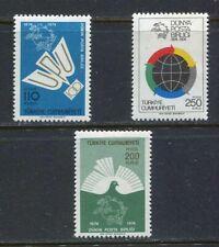 31058) Turkey 1974 MNH Upu 3v Scott #1986/88