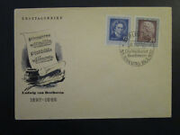 Germany DDR SC# 96 / 97 on 1952 FDC / Cacheted / Unaddressed - Z4502