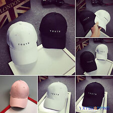 Men Women Adjustable Baseball Trucker Cap Curved Visor Hat Hip-hop Sun Snapback