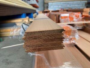 Western Red Cedar V joint Lining Board 86 x 9mm Indoor use