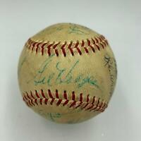 1969 Mets W.S. Champs Team Signed Baseball Nolan Ryan Tom Seaver Gil Hodges JSA