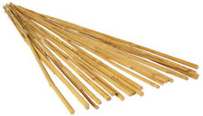 HydroFarm GROW!T HGBB6 - 6FT  Long Bamboo Stakes, Natural Finish - (Pack of 25)