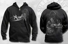 Rare! Sullen Clothing Overboard Pirate Girl Punk Tattoo Hoodie Sweat Shirt M