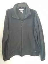 Columbia Mens Gray Fleece Jacket XL - Full Zip