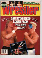 The Wrestler Magazine  Feb 1990 Sting  Luger NWA  Flair