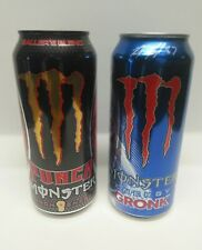 Monster Energy Drink Gronk & DUB 16 FL OZ  Rare New England Patriots Lot of 2