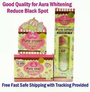 Jelly PURE Cream-Lotion-Soap Whitening Skin Glutathione Beauty Aura Fast Ship