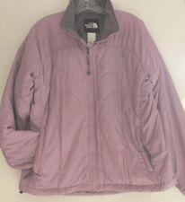 North Face EUC Women's L Lilac Purple Ski Jacket w/ Primaloft Insulation