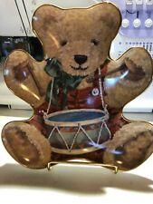 "Cherished Teddies ""Little Drummer Boy� Franklin Mint plate"