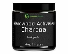 Teeth Whitening Activated Charcoal Powder 4oz Hardwood DIY Treatment for