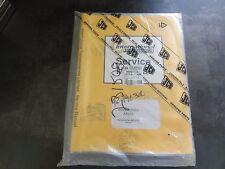 International Transmissions JCB PD70 Series Axles Service Manual