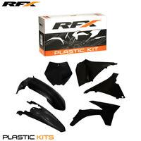RFX Plastic Kit Inc Airbox Covers Black For KTM SX 125 150 250 2012
