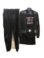 Star Wars Adult Mens Darth Vader Pajamas, Size S, Shirt And Pants / Costume