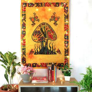 Hippie Bohemian Poster Tapestry Mushroom Print Art Posters Wall Decor Tapestries