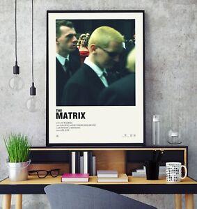 The Matrix (1999) Premium Minimal Gloss Poster Print Professional Grade A4 A3 HD