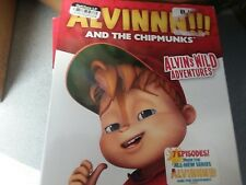 Alvin And the Chipmunks ALVIN'S WILD ADVENTURES (Blu-ray Disc & DVD) simon NEW