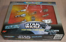 A New Hope space ships Star Wars Micro machines  MIB