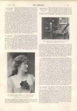 1901 James Ballantyne Ancient Press Beatrice Ferrar Mme Emile Zola