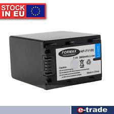 NP-FV100 Battery for Sony Handycam HDR-XR100 HDR-XR550V HDR-TD10E HDR-SR10E