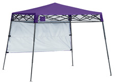 Shelter Logic Quik Shade Ultra Compact 6' X 6' Purple Backpack Canopy 167521
