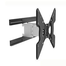 "TV WALL MOUNT FULL MOTION SUPER SLIM BRACKET 32"" - 55"" LED LCD TV VESA 400x400"