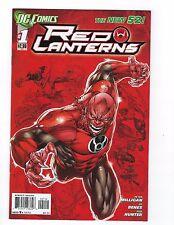 Red Lanterns # 1 NM DC 2nd Print Regular Cover New 52 N52