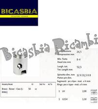 10051 - PISTONE DM 38,2 SPINOTTO 12 PER CILINDRO PIAGGIO 50 SI CIAO BRAVO BOXER