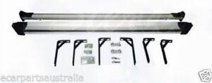 Ford RangerXL - PJ & PK 12/2006-8/2011 Alloy Dual Cab Side Steps with brackets